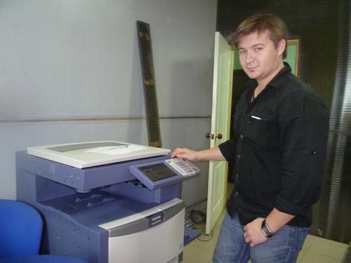 печатный комплекс на основе цифровой машины Toshiba 2540